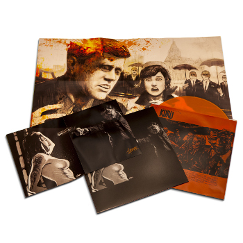 KURU (very limited 180 gram Orange vinyl w/ download card and 2 autographed posters)